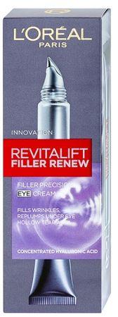 L'Oréal Revitalift ráncfeltöltő szemkörnyékápolókrém (Filler Renew Eye cream) 15 ml
