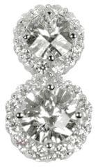 Silver Cat Ezüst medál kristályokkal SC158 ezüst 925/1000