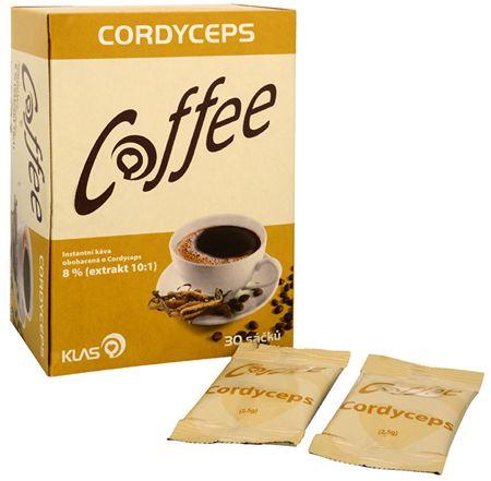 Klas Coffee Cordyceps 30 sáčkov