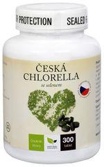 Natural Medicaments Česká chlorella se selenem 300 tbl.