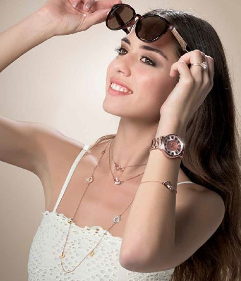 Oliver Weber Očarljiva ogrlica Fond 11615R