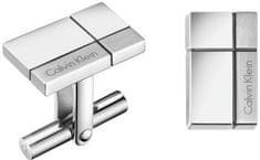 Calvin Klein Pánské manžetové knoflíčky Constructed KJ3PMC090100