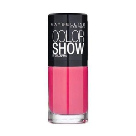 Maybelline Color Show körömlakk 7 ml (árnyalat 489 Black)
