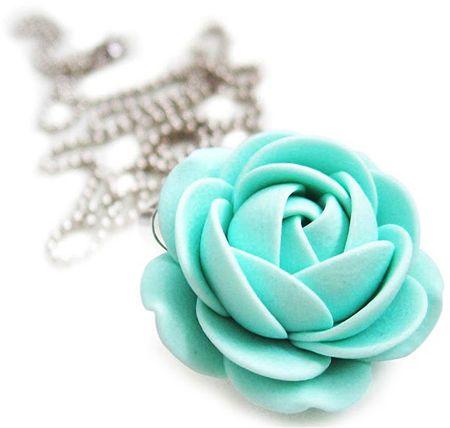 Troli Naszyjnik kwiat mentol
