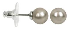 Troli Náušnice Pearl Platinum
