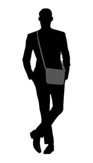 Lagen Torba za moške na ramenih 23306 TAN