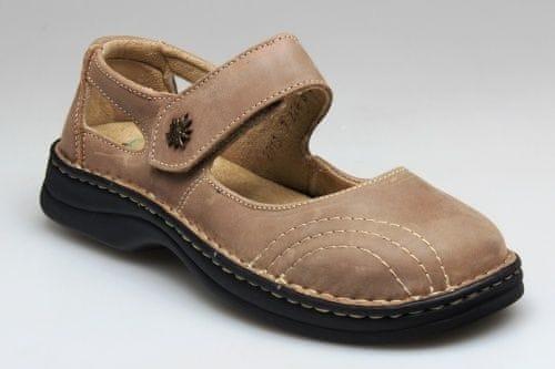 SANTÉ Zdravotní obuv dámská N 224 8 43 světle hnědá (Velikost vel c2947f40cb