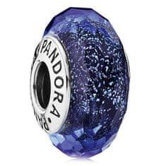 Pandora Kék üveggyöngy 791646 ezüst 925/1000