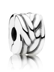 Pandora Stříbrný propletený klip 791774 stříbro 925/1000