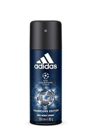 Adidas UEFA IV Champions - deodorant ve spreji 150 ml