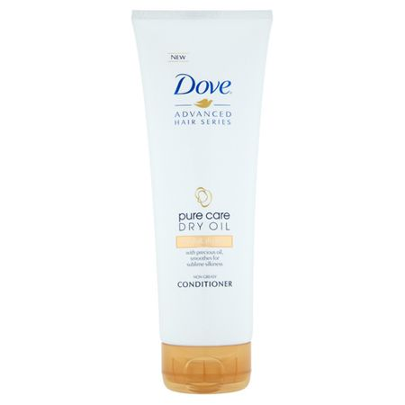 Dove Advanced Hair Series kondícionáló száraz hajra (Pure Care Dry Oil Conditioner) 250 ml