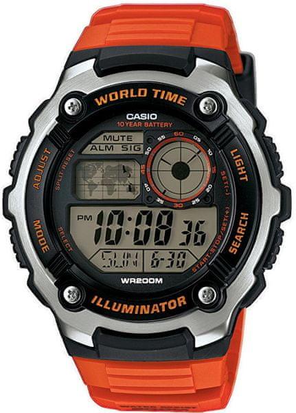 84f215de525 Panske digitalni hodinky casio 365 levně