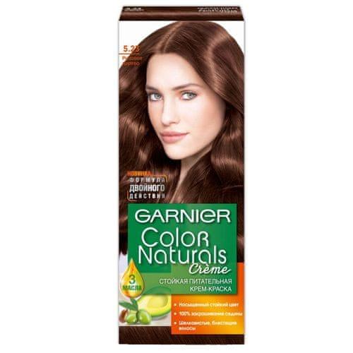 Garnier Dlouhotrvající vyživující barva na vlasy (Color natural Creme) (Odstín 323 Tmavě čokoládová)