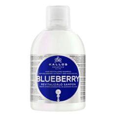 Kallos Revitalizační šampon s výtažkem z borůvek (Blueberry Hair Shampoo) 1000 ml
