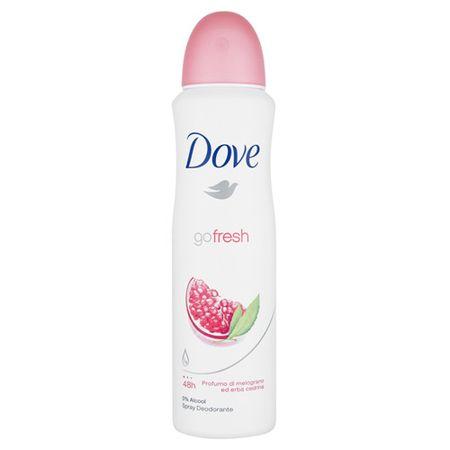 Dove Antyperspirant sprayu Idź świeży zapach granatu i cytrynowe werbena 150 ml