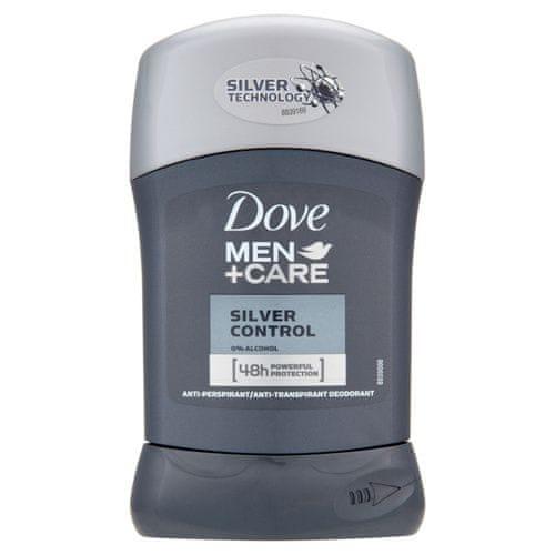 Dove Tuhý deodorant Men+Care Silver Control 50 ml
