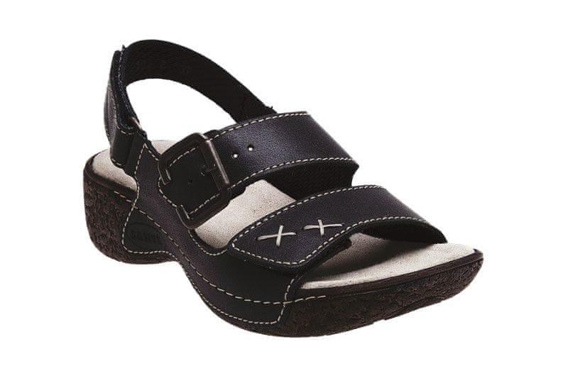 SANTÉ Zdravotní obuv dámská N 109 2 69 černá (Velikost vel. c6f5ef33ee