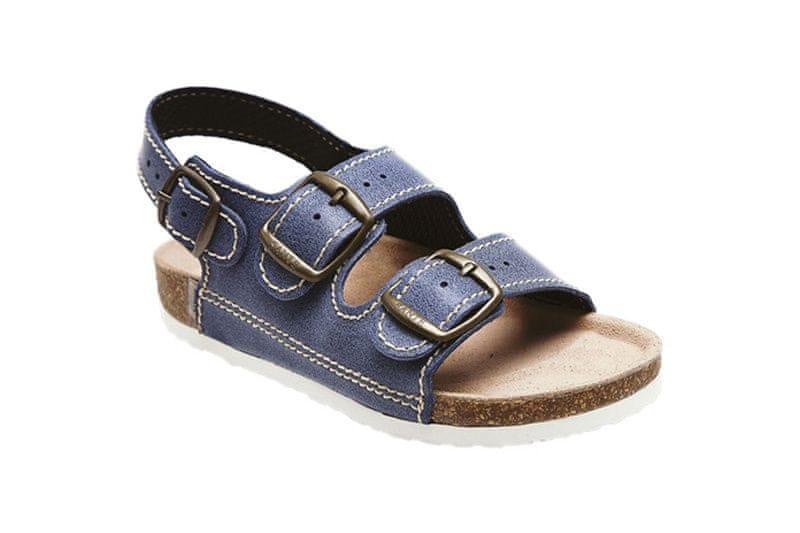SANTÉ Zdravotní obuv dětská D/303/86/BP modrá (Velikost 30)
