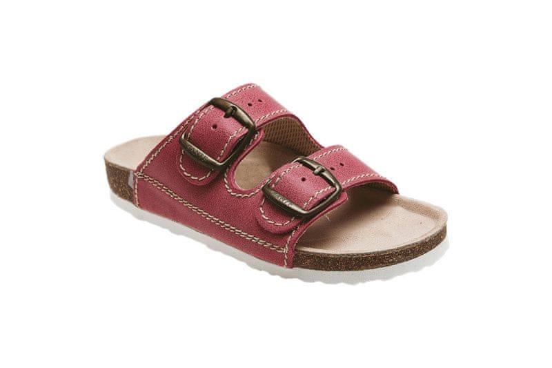 SANTÉ Zdravotní obuv dětská D/202/C30/BP červená (Velikost 34)