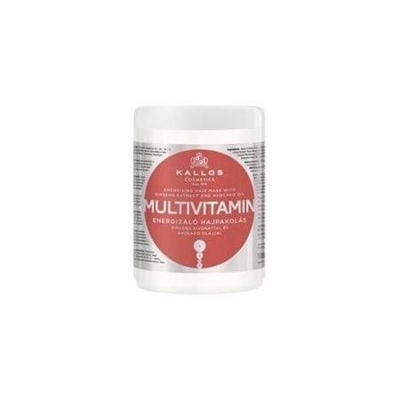 Kallos Oživující maska na vlasy s multivitamíny (Multivitamin With Ginseng Extract and Avocado Hair Mask) (