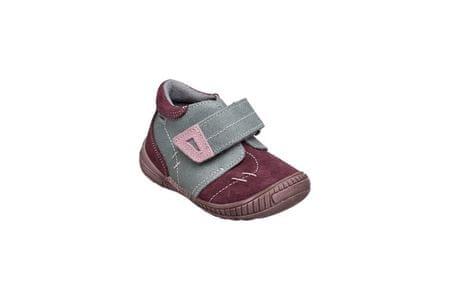 SANTÉ Zdravotná obuv detská N / 661/401/19/77/56 šedo-ružová (Veľkosť vel. 29)