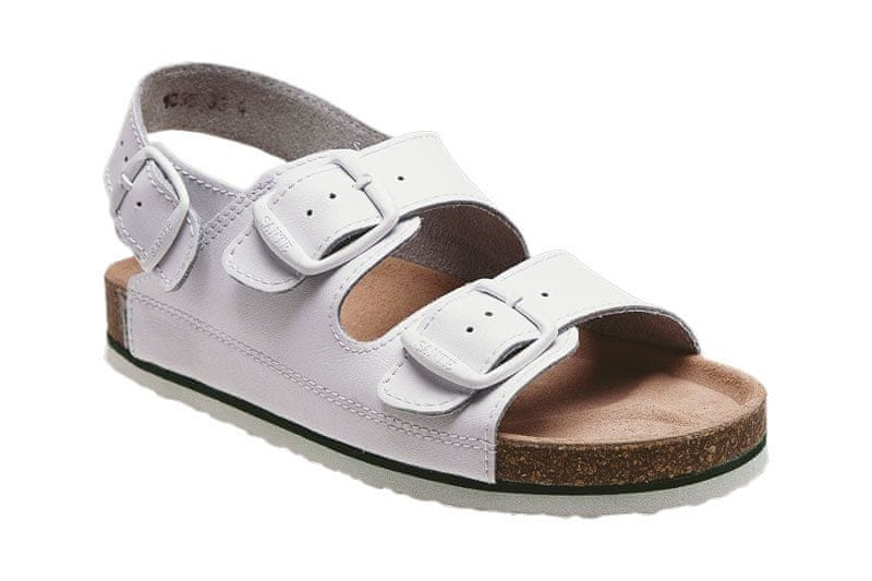 SANTÉ Zdravotní obuv Profi pánská N/35/10/H bílá (Velikost vel. 43)