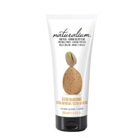 Naturalium Maska do włosów z ekstraktami migdały, pistacje (Extra odżywczy włosów MASK migdał & Pistachio 200 m