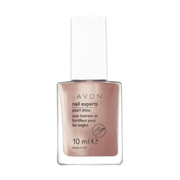 Avon Vyživující komplex pro perlový lesk nehtů Nail Experts 10 ml (Odstín Sheer Lilac)