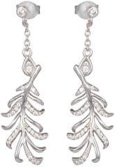 Preciosa Stříbrné náušnice s krystaly Joy 5189 00 stříbro 925/1000