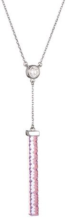 Preciosa Strieborný náhrdelník Crystal Line 6050 69 striebro 925/1000