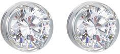 Preciosa Stříbrné náušnice s velkým krystalem Brilliant Star 5196 00 stříbro 925/1000