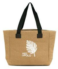 Art of Polo Nákupní taška Leaf tr16126.2 Dark beige