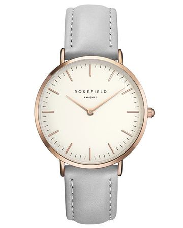 Rosefield THE BOWERY White Grey Rose gold