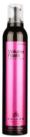 Kallos Pro fesionálny pena na vlasy s extra silnou fixáciou Prestige(Extra Strong Hold Professional Volume