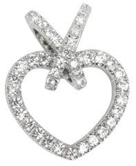 Silver Cat Szív ezüst medál cirkónia kővel SC198 ezüst 925/1000