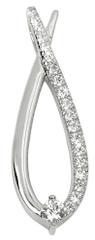 Silver Cat Csepp ezüst medál cirkónia kővel SC196 ezüst 925/1000