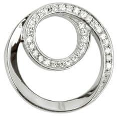 Silver Cat Ezüst medál cirkónia kővel SC222 ezüst 925/1000