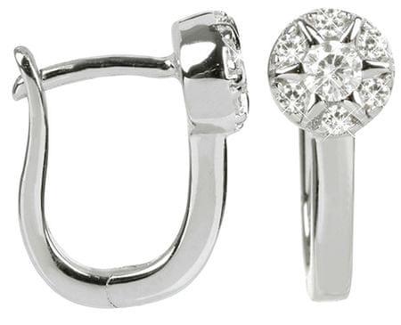 Silver Cat Ezüst fülbevaló cirkónia kővel SC208 ezüst 925/1000