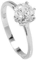 Brilio Silver Stříbrný zásnubní prsten 5119085 stříbro 925/1000