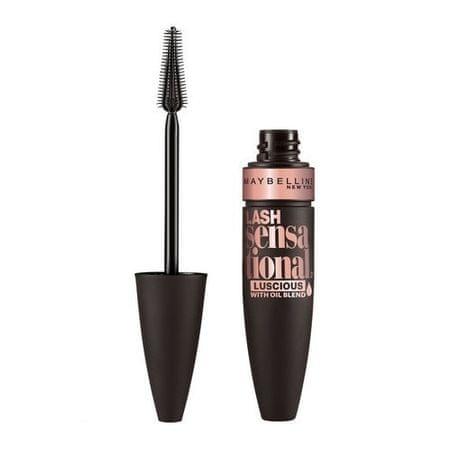 Maybelline Tusz dla glonów objętości (Lash Mascara Sensacyjna Luscious) 9,5 ml (cień Very Black)