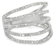 Brilio Silver Srebra pierścień z cyrkonem 31G3098 srebro 925/1000