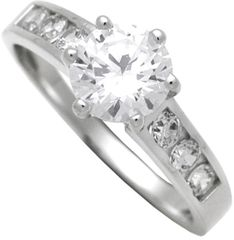 Brilio Silver Strieborný zásnubný prsteň 7111044 striebro 925/1000