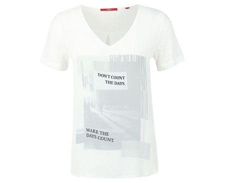 s.Oliver Dámske tričko 14.608.32.6295.02D0 (Veľkosť 38)