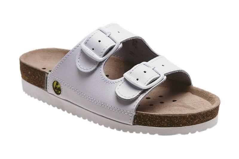 7ae2fb05827 SANTÉ Zdravotní obuv Profi dámská N 21 10 E bílá (Velikost vel