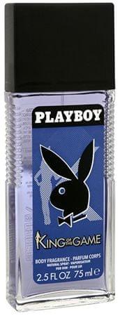 Playboy King Of The Game - dezodorant s rozprašovačom 75 ml