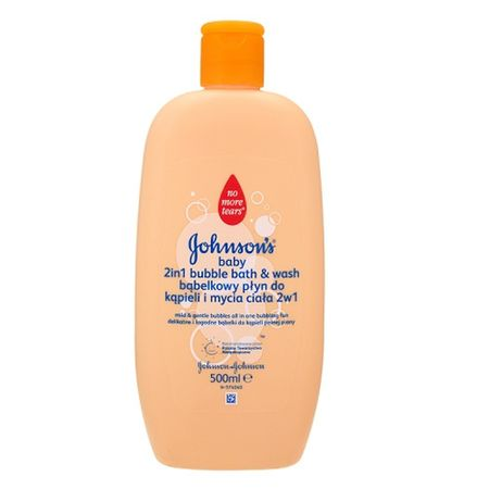 Johnson's Baby Baby habfürdő és tusfürdő 2 az 1-ben 500 ml