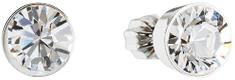 Evolution Group Náušnice s krystaly Swarovski 31113.1 krystal stříbro 925/1000