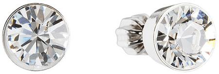 Evolution Group Swarovski kristályos fülbevaló 31113.1 krystal ezüst 925/1000