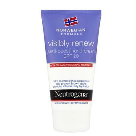 Neutrogena Denní krém na ruce Visibly Renew SPF 20 (Elasti-Boost Hand Cream) 75 ml