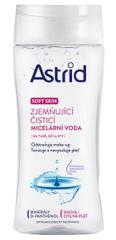 Astrid Zjemňujúce čistiace micelárna voda pre suchú a citlivú pleť Soft Skin 200 ml